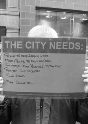 Walking research 'The city needs..'