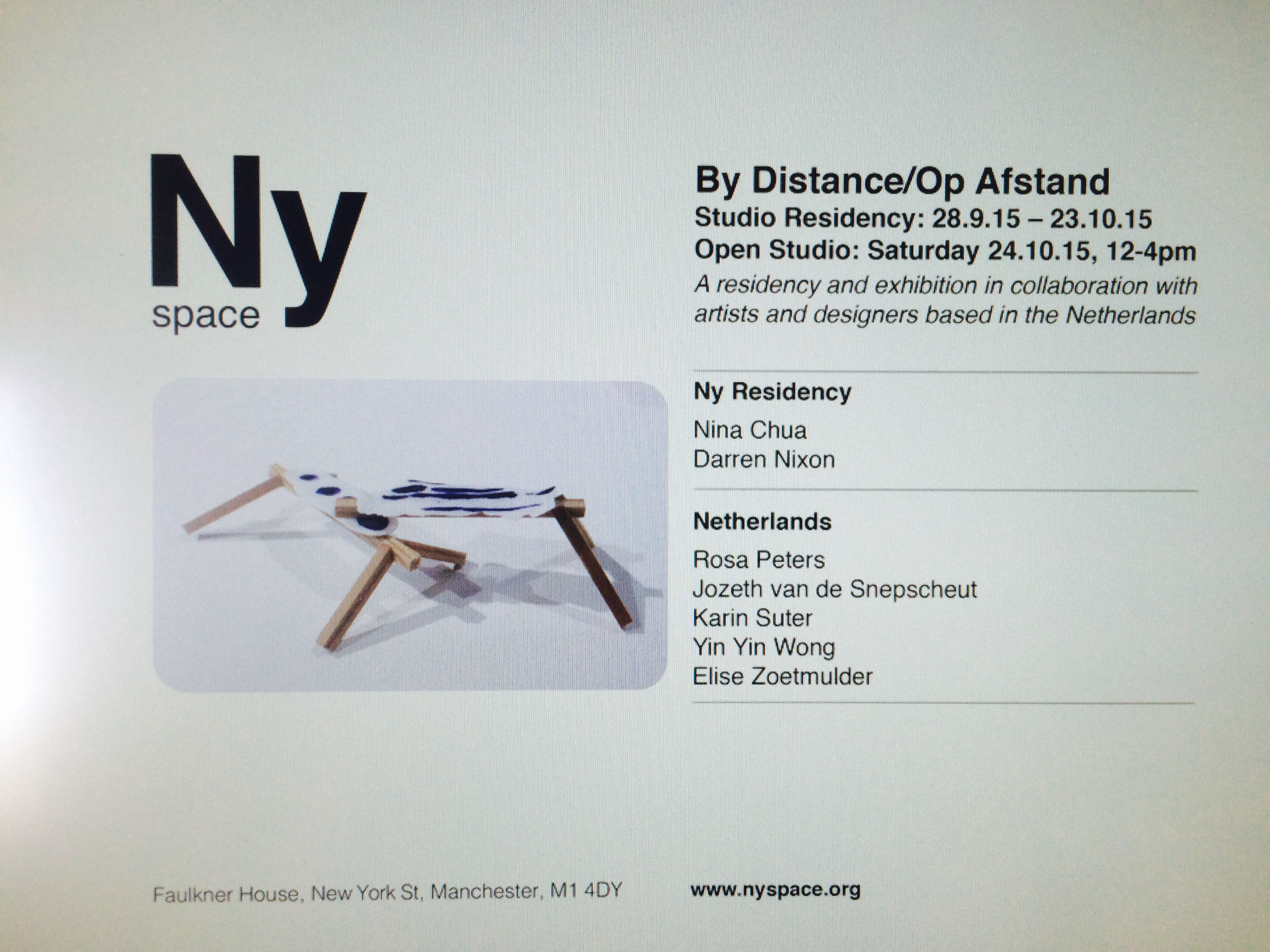 NY space manchester by distance